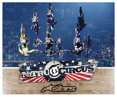 I don't care what anyone says this takes brass ones!!!! #AlpineStars #NitroCircus