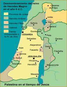 Palestina En El Tiempo De Jesús Jesus De Nazaret De Jesus Nazaret