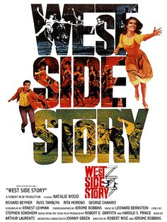West Side Story Full Movie | MOVIE POSTERS: WEST SIDE STORY (1961)