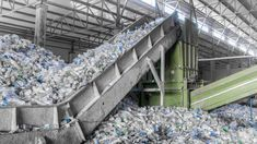 A Plant For Recycling Bottles Stock Image - Image of dump, conveyor: 87744841 A plant for recycling bottles. Closeup escalator with a pile of plastic bottles , # Recycling Plant, Recycling Bins, Plastic Recycling, Recycled Bottles, Plastic Bottles, Plastic Items, Plastic Containers, Global Plastic, What Can Be Recycled