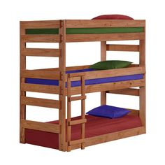 Shop Chelsea Home  312500 Triple Bunk Bed at ATG Stores. Browse our bunk beds, all with free shipping and best price guaranteed.