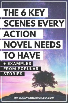 The 6 Key Scenes Every Action Story Needs | Savannah Gilbo - Want to learn how to write an action novel? In this post, I'll walk you through the six key scenes every action novel needs to satisfy readers. Other writing tips included, too! #amwriting #writingtips #writingcommunity #amwritingfantasy Writer Tips, Book Writing Tips, Writing Resources, Writing Prompts, Outlining A Novel, Plot Outline, Action Story, Popular Stories, Writing Characters