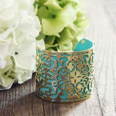 Freebird Lace Cuff Bracelet, Women's Sweet Country Inspired Jewelry