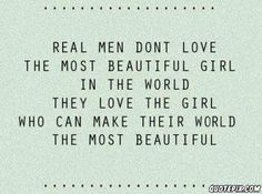 Real Men... Do You Agree?