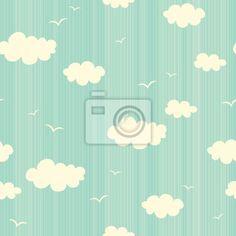 Szwu z chmur i ptaków na obrazach Redro. Najlepszej jakości fototapety, naklejki, obrazy, plakaty, poduszki. Chcesz ozdobić swój dom? Tylko z Redro