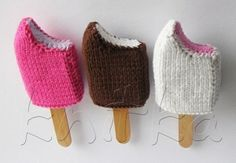 Knitting plus Ice Cream!