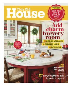 loving this this old house magazine subscription on zulily zulilyfinds - Free Home Improvement Magazines