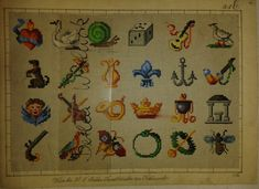 Small Berlin WoolWork Motif Patterns Produced By H F Muller ~ eBay.de