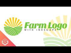 Inkscape for Beginners: Create a Farm Logo - Tutorial - YouTube