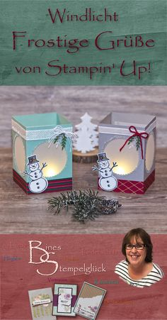 Stampin Up Christmas, Christmas Crafts, Christmas Ornaments, Diy Paper, Paper Crafts, Stampin Up Weihnachten, Easy Diy Gifts, Light Crafts, Explosion Box