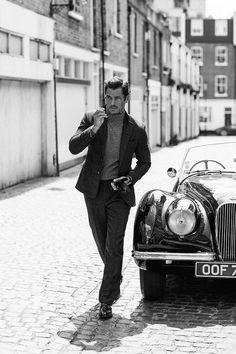 David Gandy Stars in Vanity Fair UK September 2016 Cover Story