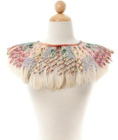 maybe do the feather cape without feathers? Feather Cape, Feathers, Sewing, Jewelry, Dressmaking, Jewlery, Couture, Jewerly, Stitching