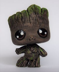 Littlest Pet Shop guardians of the galaxy baby groot OOAK custom figure LPS Cute Baby Groot, Little Pet Shop, Little Pets, Pet Quotes Cat, Cool Pet Names, Custom Lps, Lps Toys, Lps Littlest Pet Shop, Animal Room