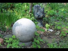How to Make Concrete Garden Spheres – Portraits by NC