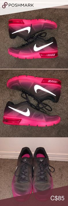 Nike Women's Air Max Sequent SKU: -Like New/ Excellent Condition -Branding slightly rubbed of on inside of shoe at heel Nike Shoes Athletic Shoes Air Max Women, Plus Fashion, Fashion Tips, Fashion Trends, Nike Shoes, Athletic Shoes, Nike Women, Louis Vuitton, Branding