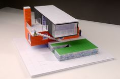 #Granddesigns inspired model house made with @Arckitmodel #container #architecture