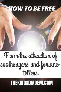 Have you ever been attracted to soothsayers and fortune-tellers? Me too! I mean who doesn't want to know what the future holds? Read about my experience here. #soothsayers #fortunetellers #spiritists #mediums #herbalists #freedom Christian Post, Christian Marriage, Christian Living, Inspirational Blogs, Seeking God, Fortune Teller, My Bible, Christian Encouragement, S Word