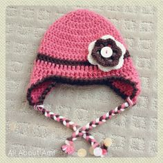 Here is another earflap hat i made from alli s crafts it is