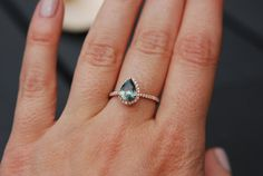 on hold till Wednesday Rose Gold Engagement Ring by EidelPrecious