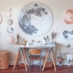 Currently obsessing over the beauty that is artist @stellamariabaer's home and studio. See the full tour on our blog today! Link in profile. #mywestelm #denver