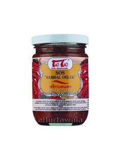 Sos Sambal Oelek  • kuchnia indonezyjska • pikantny i aromatyczny • na bazie papryczek chilli • smak kwaśno-słony
