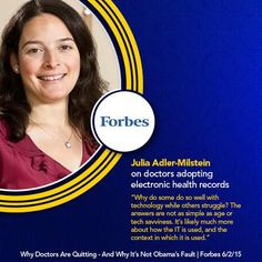 UMSI professor commented in Forbes!