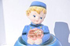 SOLD. Vintage ESD Lefton Japan Dutch Boy Cookie by FinchAvenueVintage