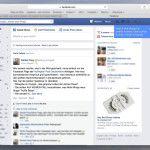 Facebook rollt neue Sidebar für kleine Displays aus - Mehr Infos zum Thema auch unter http://vslink.de/internetmarketing
