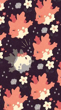 ガラルサニーゴちゃんの設定がショッキングだった温かい海へ連れて行ってあげたいpic.twitter.com/yN2EDXWFVa Corsola Pokemon, Gijinka Pokemon, Pokemon Comics, Pokemon Stuff, Pokemon Backgrounds, Cute Backgrounds, Cute Wallpapers, Cute Pokemon Wallpaper, Kawaii Wallpaper