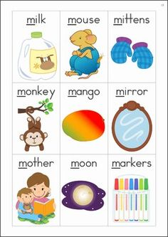 letter a vocabulary words preschool free printable pdf number flashcards play 13014