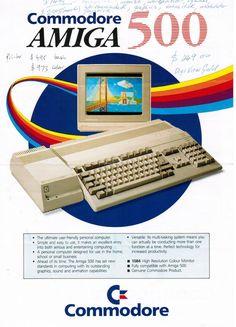 Amiga 500 Brochure (Page 1)