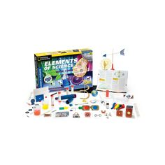 Thames & Kosmos Elements of Science Experiment Kit, Multicolor