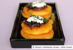 Kukoricás palacsinta karamellizált hagymával Diy Food, Baked Potato, Mashed Potatoes, Paleo, Pork, Baking, Breakfast, Ethnic Recipes, Mille Crepe