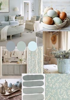 Ideas For Shabby Chic Living Room Blue Colour Palettes Duck Egg Blue Rooms, Duck Egg Blue Living Room, Duck Egg Bedroom, Duck Egg Blue Kitchen, Duck Egg Blue Lounge Room, Duck Egg Blue Decor, Duck Egg Blue Interiors, Blue Eggs, Shabby Chic Living Room