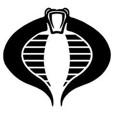 Outlaw Custom Designs, LLC - GI Joe - Cobra Logo, $5.00 (http://www.outlawcustomdesigns.com/gi-joe-cobra-logo/)