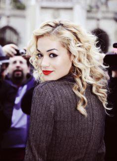 Albanian singer Rita Ora