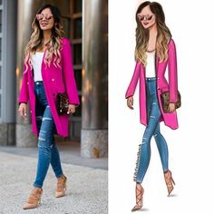 One more babe in jeans By 💙💗💙💗 ________________________ Fashion Sketchbook, Fashion Sketches, Fashion Illustrations, Fashion Figure Templates, Fashion Figures, Fashion Art, Fashion Design, Lily, Street Style