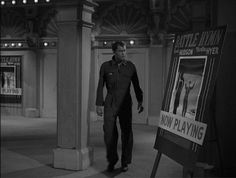 1st episode aired of The Twilight Zone, 1959, Where Is Everybody, starring Earl Holliman, pictured, with James Gregory