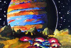 """Concurso juvenil de arte """"Los Seres Humanos en el Espacio"""""""