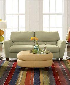 Charmant Almafi Leather Sofa Living Room Furniture Collection   Furniture   (rug For  Furniture?)