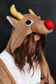 Kigurumi Reindeer Costume