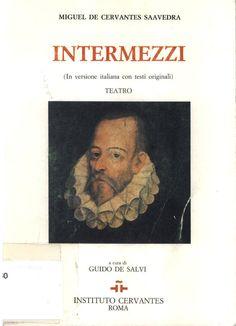 Miguel de Cervantes: Intermezzi