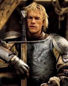 """Watching Heath in  """" A Knight's Tale"""" one of my favorite movies!!!"""