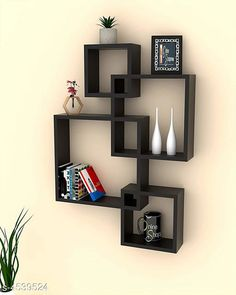 Shelves Attractive MDF Wall Shelve Material: MDF  Size( L x B x H): Large Box - 47 cm x 10 cm x 65 cm Small Box - 47 cm x 4 cm x 65 cm   Description: It Has 4 Pieces Of Floating Wall Shelves Country of Origin: India Sizes Available: Free Size   Catalog Rating: ★4.1 (922)  Catalog Name: Sia Attractive MDF Wall Shelves Vol 7 CatalogID_656763 C127-SC1622 Code: 117-4539524-4281