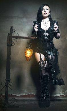Goth, dark and sexy