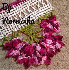 "OFICINA DO BARRADO: Croche - Barrando no ""olhometro""..."
