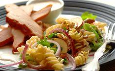 Apple, Celery and Walnut Pasta Salad recipe Walnut Salad, Pasta Salad Recipes, What To Cook, Quick Easy Meals, Celery, Healthy Recipes, Easy Recipes, Healthy Living, Dinner Recipes