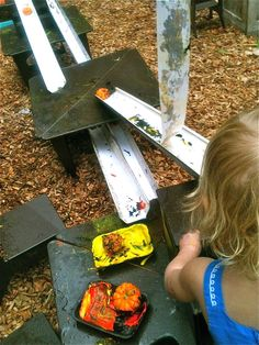 Teacher Tom: How To Build Your Own Backyard Playground - Great ideas for inexpensive items to add to a playground or backyard