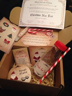 50 fascinating gift ideas from Santa - . 50 fascinating gift ideas from Santa – Christmas Eve Box For Kids, Xmas Eve Boxes, Magical Christmas, Babies First Christmas, Christmas 2016, Diy Christmas Gifts, Christmas Time, Christmas Decorations, Christmas Eve Box Ideas Kids