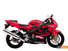 2001 Honda CBR 600 F